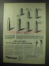1963 Lyman Reloading Ad - All-Round Year-Round Shooting