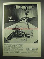 1963 Bushnell 1.3x Phantom Scope Ad - Target or Varmint