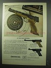 1963 Browning Pistol Ad - Medalist Challenger Nomad