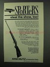 1963 Anschutz Deluxe Sporting Rifle Ad - Steal the Show