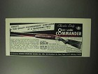 1963 Charles Daly Over-under Commander Shotgun Ad