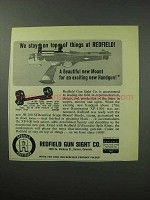 1963 Redfield JR-100 Streamline Scope Mount Ad