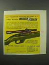 1963 Weaver B4 Scope Ad - Improved Accuracy