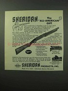 1963 Sheridan Pneumatic Rifle Ad - All-American Gift