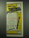 1962 Weaver K4 and V8 Scopes Ad - Big, Bright Target