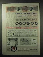 1962 Redfield Gunsight Streamline Rings Advertisement