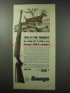 1962 Savage 340-C Carbine Ad - This is the Moment