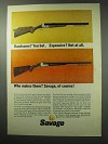 1962 Savage 24-DL Rifle Shotgun and Fox B-DL Shotgun Ad