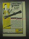 1962 Weaver K4 Scope Ad - Christmas Choice