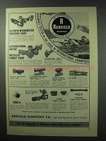 1961 Redfield Sights Ad - Olympic Micrometer Receiver