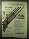 1961 Browning Automatic-5 Shotgun Ad - Big or Little