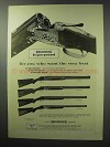 1960 Browning Superposed Shotgun Ad - Want the Best