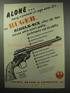 1960 Ruger Single-Six Revolver Ad - Among a Profusion