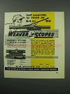 1960 Weaver B4 and B6 Scopes Ad - Built Especially