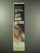 1959 Weatherby Mark V Rifle Ad - Left Hand Action