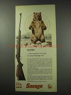 1959 Savage Model 110-MC Rifle Ad - Moment of Truth