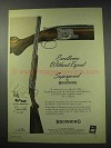 1959 Browning Superposed Shotgun Ad - Excellence