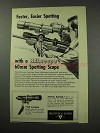 1959 Bausch & Lomb BALscope 60mm Spotting Scope Ad