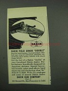 1959 Dakin  Field Grade Double Shotgun Ad
