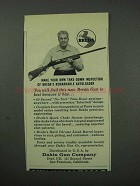 1959 Dakin Breda Shotgun Ad - Take-Down Inspection