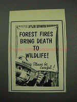 1959 Prevent Forest Fires Ad - Smokey the Bear