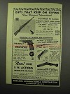 1951 F.I. Ad - FN Mauser Rifle, Star Model F Pistol