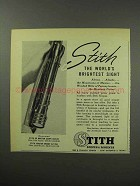 1951 Stith 4x Master Scope Ad - Brightest Sight