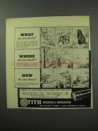 1950 Stith Scopes Ad - What Do You Shoot?