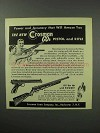 1950 Crosman CO2 Pistol and Rifle Ad - Will Amaze You