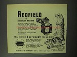 1950 Redfield Micrometer Receiver Sights Ad