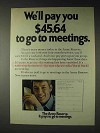 1973 U.S. Army Reserve Ad - Pay To Go To Meetings