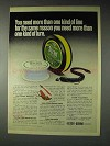 1973 Du Pont Stren Fishing Line Ad - More Than One Kind
