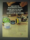 1973 Zebco Fishing Reel and Stren Fishing Line Ad