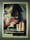 1973 Viceroy Cigarettes Advertisement - What It's All About