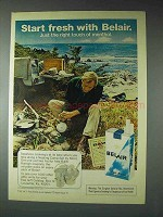 1973 Belair Cigarettes Advertisement - Start Fresh With