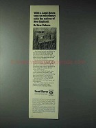 1973 Land-Rover Truck Ad - Rub Elbows With Natives