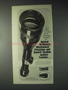 1973 Leupold Scopes Ad - Mechanical Precision