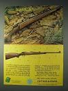 1973 Interarms Mark X Mauser Sporting Rifle Ad