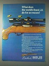 1973 Weatherby Mark XXII Rifle Ad - World's Finest