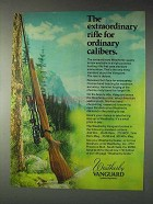 1973 Weatherby Vanguard Rifle Ad - Extraordinary
