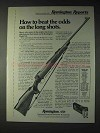 1973 Remington Model 700 BDL Custom Deluxe Rifle Ad