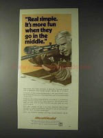 1973 Redfield 3200 Target Scope Ad - Real Simple
