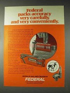 1973 Federal Hi-Shok Centerfire Rifle Cartridges Ad