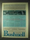 1973 Bushnell ScopeChief Scope Ad - Second Reticle
