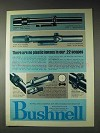 1973 Bushnell ScopeChief and Custom Scopes Ad