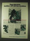 1973 Browning Boots Ad - Boulder Vibrams, Ground Hugs