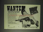 1973 High Standard Western Revolver Ad - Wanted!