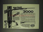 1973 Mauser Model 3000 Rifle Ad