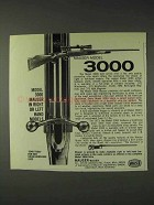1973 Mauser Model 3000 Rifle Ad - Right or Left Hand
