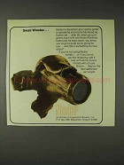 1973 Nosler Partition Bullet Ad - Small Wonder